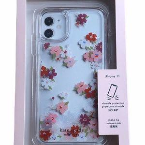 Kate Spade Iphone 11 Case New Liquid Glitter